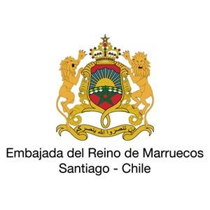 Logo Centro Cultural Mohammed VI para el Diálogo de las Civilizaciones (Embajada del Reino de Marruecos en Chile)