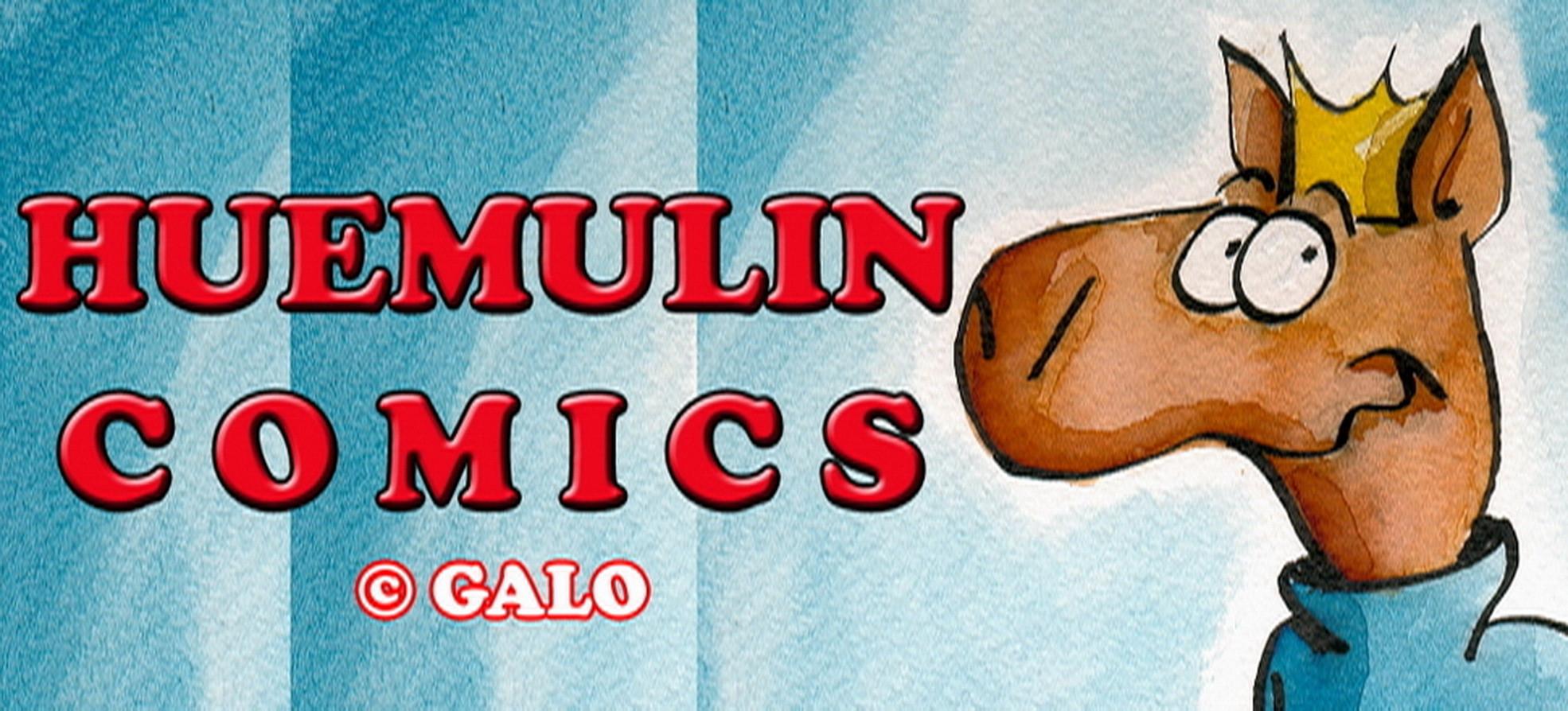 Banner HUEMULIN COMICS